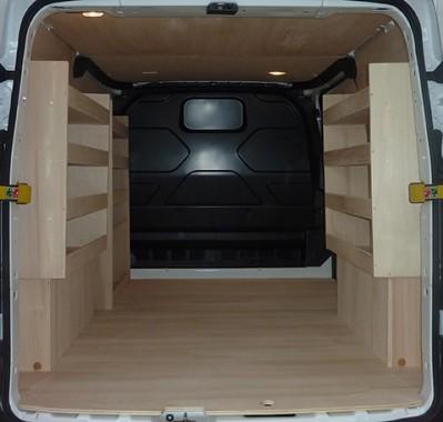 casier de rangement am nagement ford transit custom l1h1 kitwood. Black Bedroom Furniture Sets. Home Design Ideas