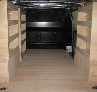 Aménagement, casier de rangement pour le Mercedes Vito long - Kitwood