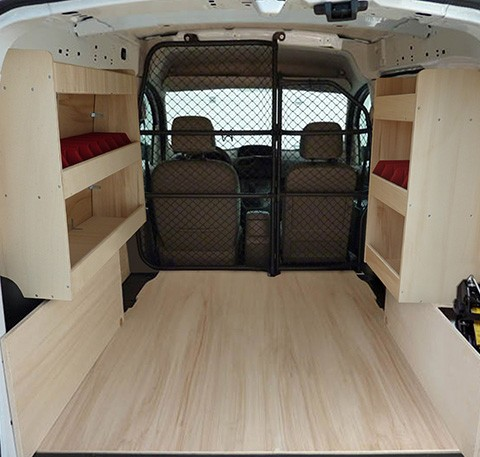 am nagements bois v hicule utilitaire renault kangoo 2 phase 1 kit am nagement fourgon kitwood. Black Bedroom Furniture Sets. Home Design Ideas