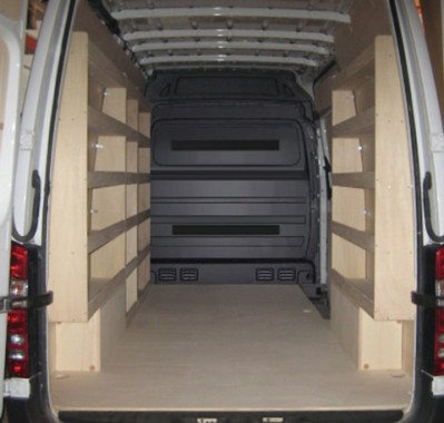 am nagement rangement pour utilitaire volkswagen crafter van kitwood. Black Bedroom Furniture Sets. Home Design Ideas