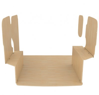 habillage bois citroen nemo avec porte lat rale. Black Bedroom Furniture Sets. Home Design Ideas