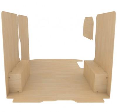 kitwood habillage protection bois pour opel vivaro. Black Bedroom Furniture Sets. Home Design Ideas
