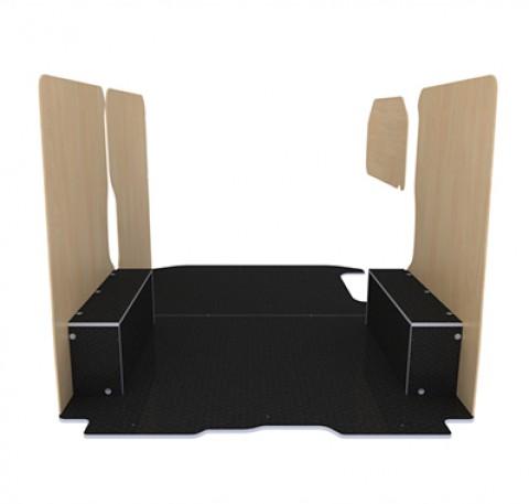 habillage int rieur renault trafic 2 kit habillage bois. Black Bedroom Furniture Sets. Home Design Ideas