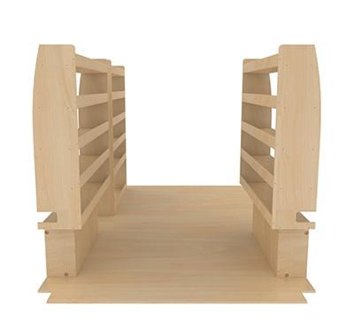 am nagement et quipement int rieur pour renault master l2h2 kitwood. Black Bedroom Furniture Sets. Home Design Ideas