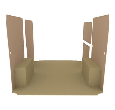 Habillage Natural K2 aggloméré + portes ar