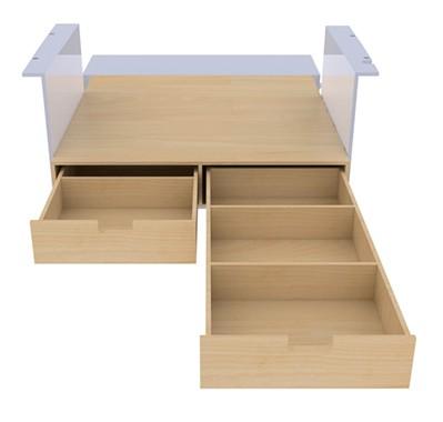 Kitwood - Double plancher arrière et latéral pour fourgon
