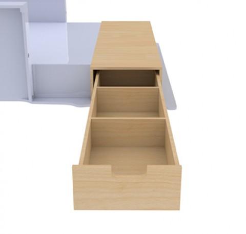 Double plancher latéral