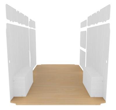 Protection du plancher - Contreplaqué peuplier brut 15mm