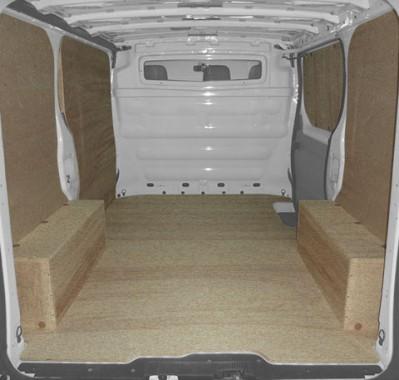 kit d 39 habillage et protection bois eco renault trafic. Black Bedroom Furniture Sets. Home Design Ideas
