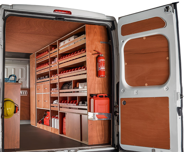 am nagement utilitaire premium kitwood. Black Bedroom Furniture Sets. Home Design Ideas