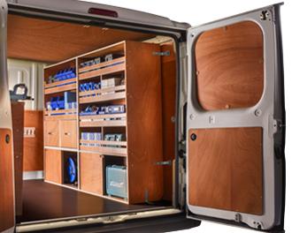 Am nagement utilitaire premium kitwood for Amenagement interieur vehicule utilitaire