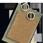 Aggloméré hydrofuge et médium (fibres de bois compressées) pour habillage utilitaire